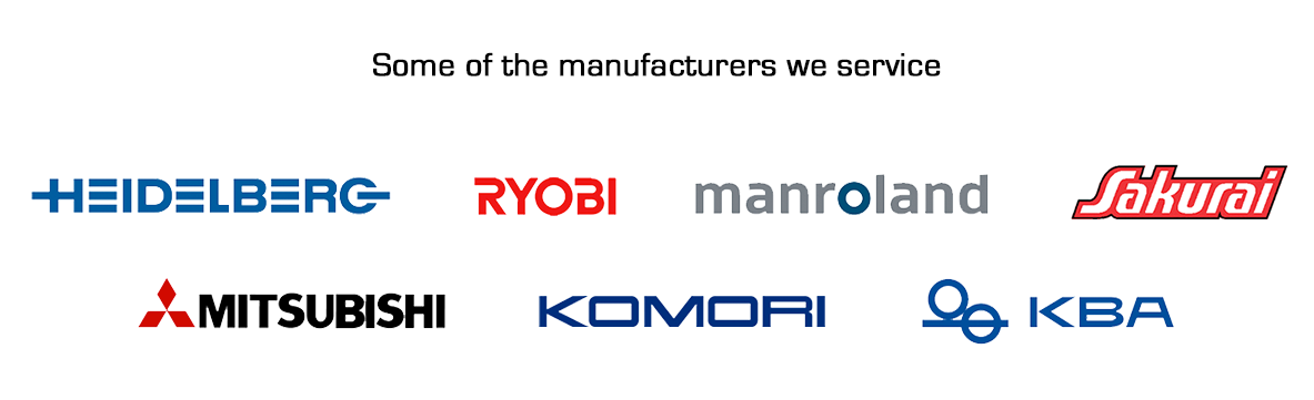 Logos of Manufacturers we supply
