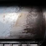 Corrosion on Heidelberg SM-102 Blanket cylinder.